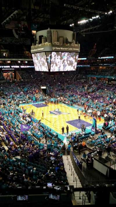 Spectrum Center, section: S28, row: 1, seat: 1