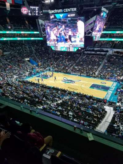Spectrum Center section Suite 33