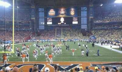 University of Phoenix Stadium, section: 118, row: 12, seat: 9