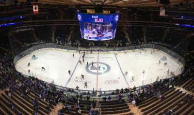 Madison Square Garden, section: 313, row: 1, seat: 12