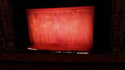 Cadillac Palace Theater, section: Loge RC, row: C, seat: 326