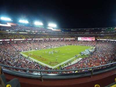FedEx Field, section: 328, row: 2, seat: 13