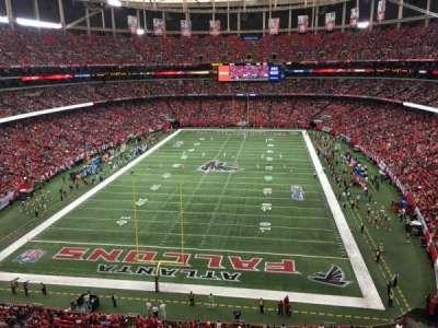 Georgia Dome, section: 333, row: 1, seat: 7