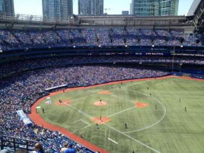 Rogers Centre, section: 514R, row: 15, seat: 7-8