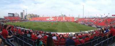 BMO Field, section: 121, row: 17, seat: 18