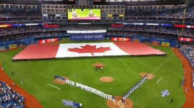 Rogers Centre, section: 525, row: 3, seat: 4