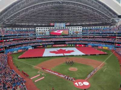Rogers Centre, section: 525R, row: 3, seat: 3