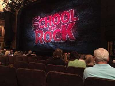 Winter Garden Theatre, section: Orchestra, row: K, seat: 10
