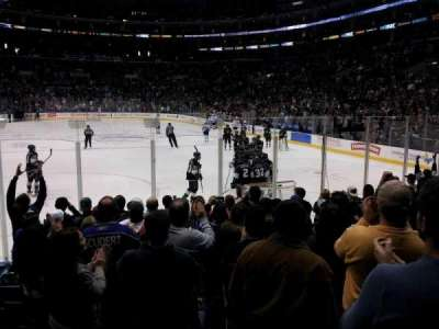 Staples Center, section: 107, row: 10, seat: 10