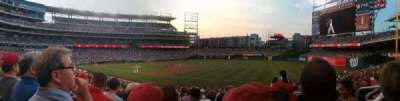 Nationals Park, section: 133, row: HH, seat: 4, 5