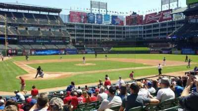 Globe Life Park in Arlington, section: 29, row: 14, seat: 8