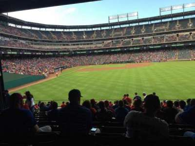 Globe Life Park in Arlington, section: 46, row: 18, seat: 13