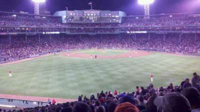 Fenway Park section Bleacher 37
