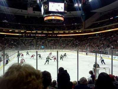 Xcel Energy Center, section: 124, row: 10, seat: 6