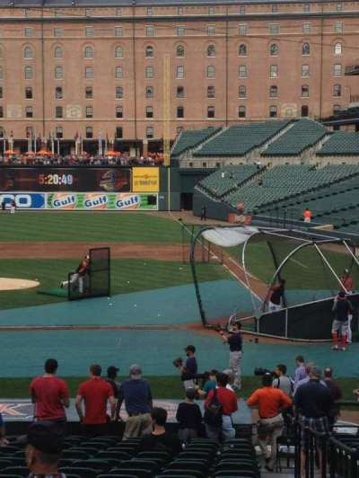 Oriole Park at Camden Yards, section: 48, row: 20, seat: 1-4