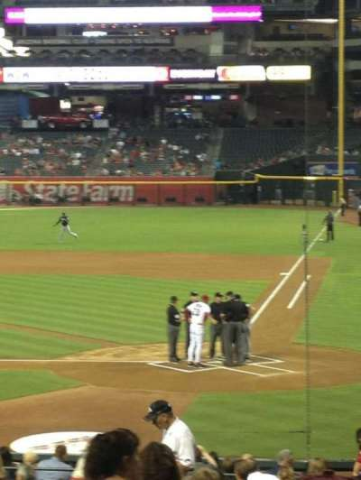 Chase Field section 125
