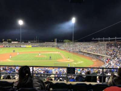 Peoria Sports Complex, section: 307, row: 4, seat: 12