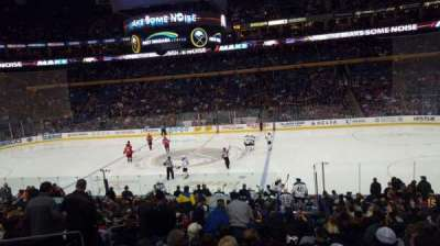 First Niagara Center, section: 105, row: 21, seat: 13