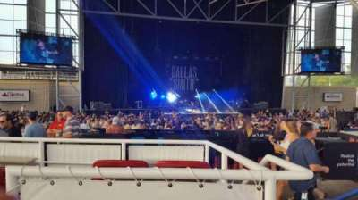 Budweiser Stage, section: Box 21, row: A, seat: 1