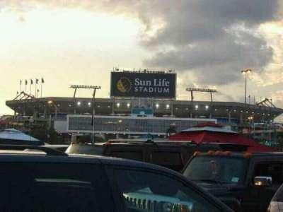 Hard Rock Stadium, section: Outside