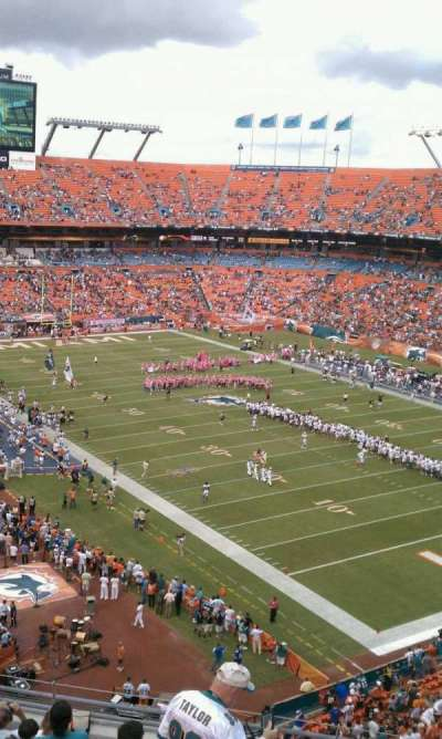 Hard Rock Stadium section 434