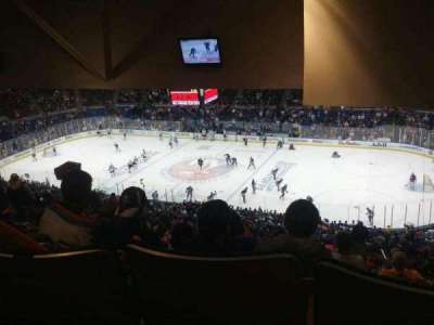 Old Nassau Veterans Memorial Coliseum, section: 340, row: T, seat: 8