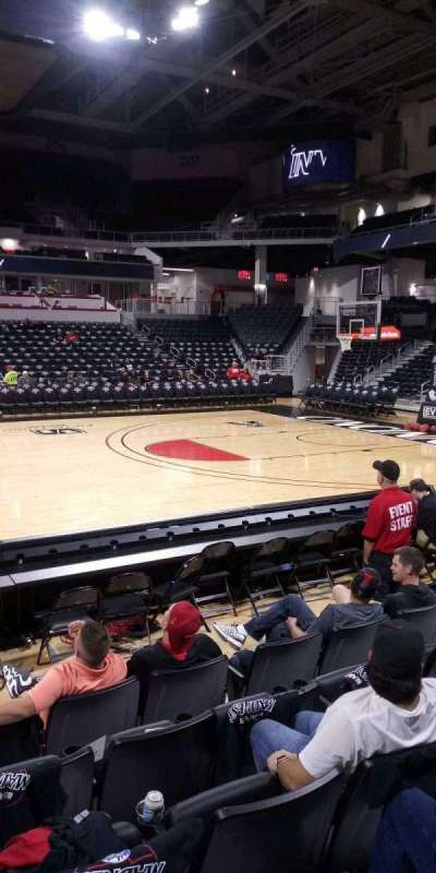 Fifth Third Arena, section: 116, row: 6, seat: 7