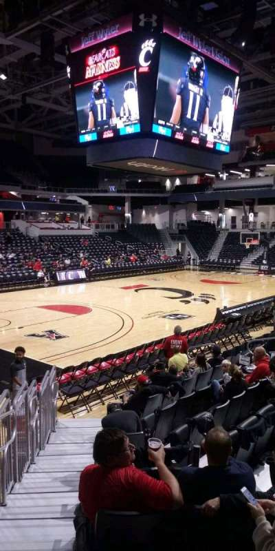 Fifth Third Arena, section: 119, row: 11, seat: 18