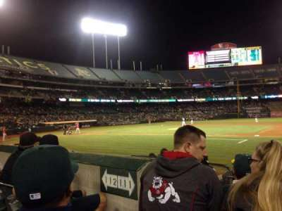 Oakland Alameda Coliseum, section: 111, row: 7, seat: 11