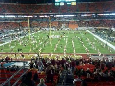 Hard Rock Stadium, section: 227, row: 1, seat: 19