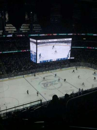 Amalie Arena section 303
