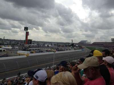 Daytona International Speedway, section: Oldfield Box A, row: 24, seat: 15