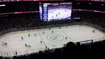 Amalie Arena, section: 303, row: M, seat: 6