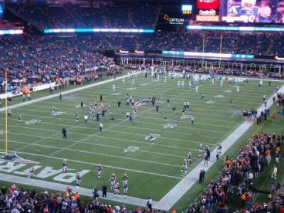 Gillette Stadium, section: 240, row: 27, seat: 21