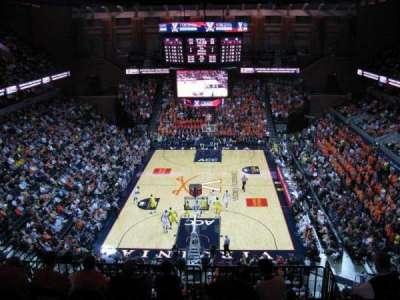 John Paul Jones Arena, section: 308, row: F, seat: 12