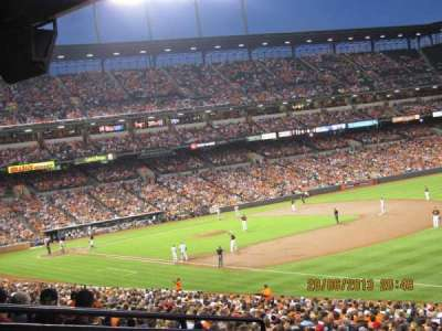 Oriole Park at Camden Yards section 9