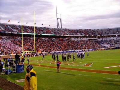 Scott Stadium section Hillside