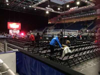 Ricoh Coliseum, section: 119, row: DD, seat: 8