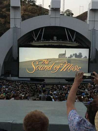 Hollywood Bowl, section: J1, row: 8, seat: 18