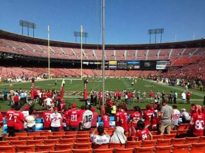 Candlestick Park section LB09