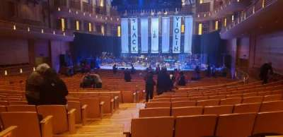 The Music Center at Strathmore section Orchestra Tier