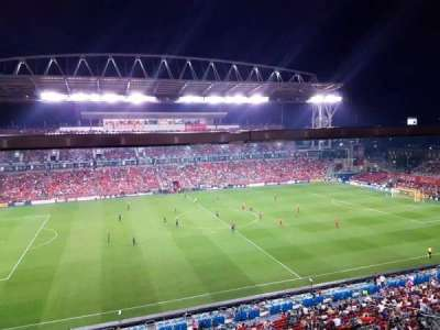 BMO Field, section: 208A, row: 3, seat: 117