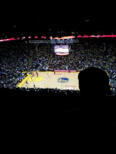 Oracle Arena, section: 216, row: 15, seat: 6