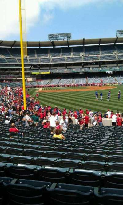 Angel Stadium, section: F135, row: y, seat: 35