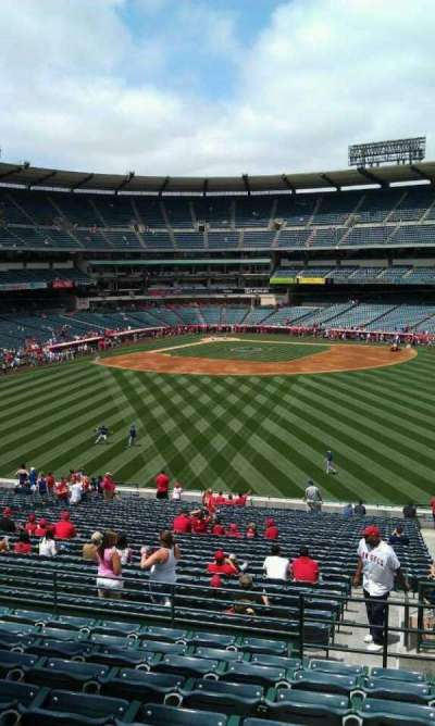 Angel Stadium, section: P247, row: j, seat: 23