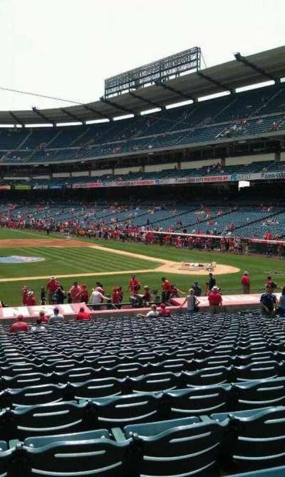 Angel Stadium, section: F112, row: z , seat: 1