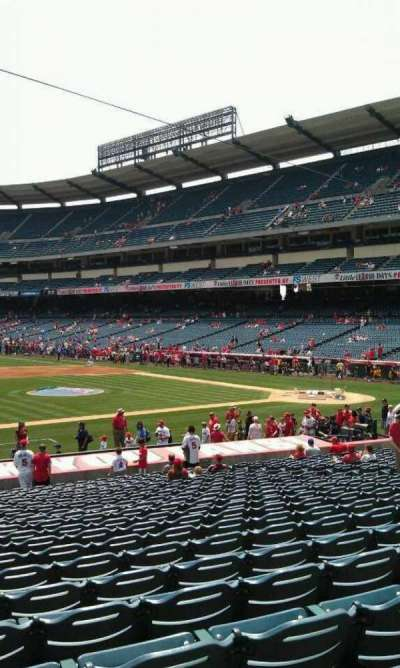 Angel Stadium, section: F111, row: y , seat: 3