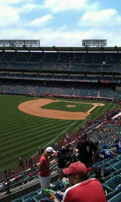 Angel Stadium, section: V404, row: j, seat: 1