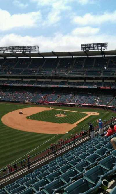 Angel Stadium, section: V408, row: h , seat: 1