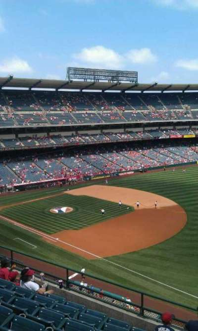 Angel Stadium, section: V429, row: g, seat: 1